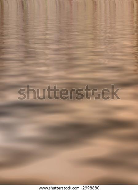 brown waters surreal background vertical