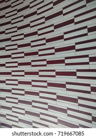 Brown and White Pattern
