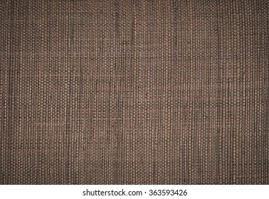 Brown wicker as a background