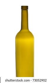 Brown wine bottle