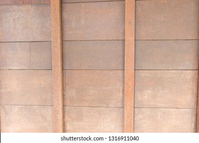 Brown wood background texture.