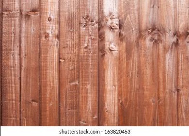 Brown wood paneling