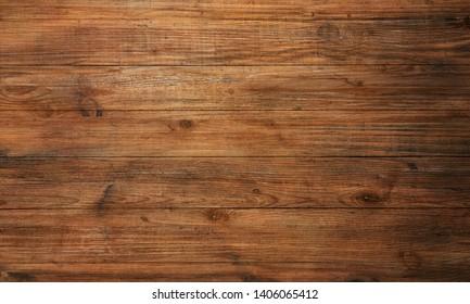 brown wood texture, dark background