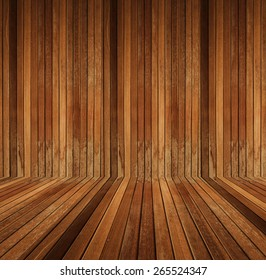 brown wood texture room background