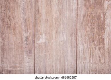 Brown wooden background. Rustic table. Kitchen space. Light wooden texture. Old desks. Vintage wood.
