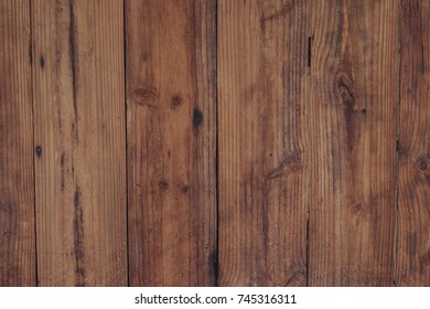 Brown wooden background and texture