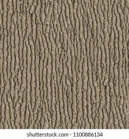 Brown Wooden Bark. Seamless Texture. Tileable Pattern