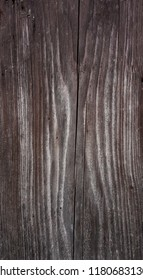Brown wooden plank