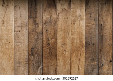 Brown wooden plank texture wall background old and weather worn