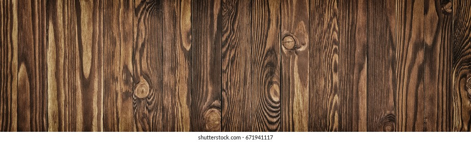 Brown wooden table, old wood texture as background