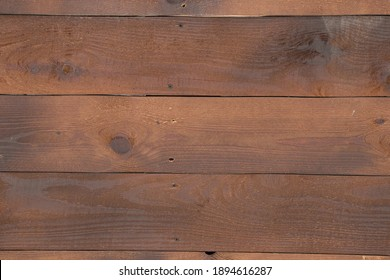 brown wooden wall as background close up