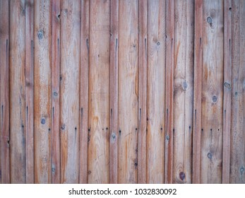 Brown wooden wall texture for wood background.