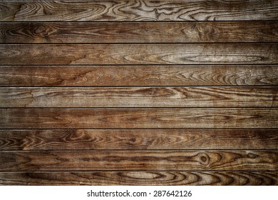 Brown wooden wall textured background