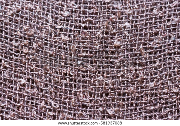 Brown woven fabric texture