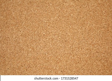 Brown / yellow color of cork board. Textured wooden background. Cork board with copy space. Notice board or bulletin board image.