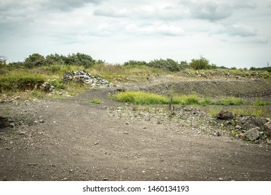 Brownfield land with history of heavy industrial usage, UK