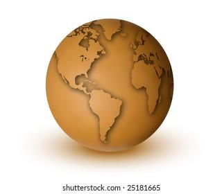 Brownish Earth