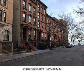 Brownstones in Brooklyn Heights, New York City