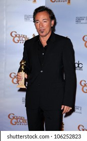 Bruce Springsteen in the press room at the 66th Annual Golden Globe Awards. Beverly Hilton Hotel, Beverly Hills, CA. 01-11-09