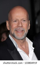 "Bruce Willis at the ""G.I. Joe: Retaliation"" Los Angeles Premiere, Chinese Theater, Hollywood, CA 03-28-13"