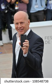 "Bruce Willis at the photocall for his new movie ""Moonrise Kingdom"" at the 65th Festival de Cannes. May 16, 2012  Cannes, France Picture: Paul Smith / Featureflash"