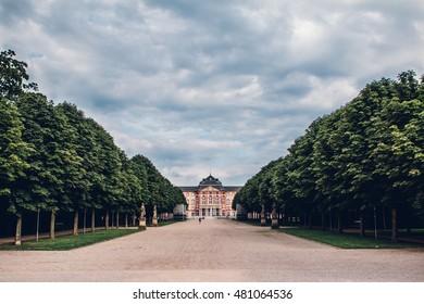 Bruchsal Castle in Germany