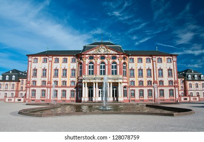 Bruchsal Castle is one of the many beautiful castles in Germany