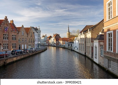 Bruges, canal view