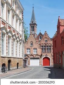 Bruges - Naaldenstraat street