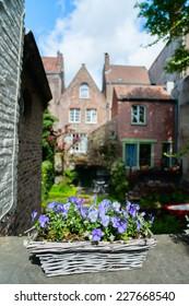 Bruges town in Belgium World Heritage Site of UNESCO
