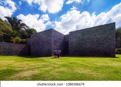 Brumadinho/MG/Brazil - May 01st 2019: Cosmococa Gallery by Hélio Oiticica in Inhotim, Largest Open Air Museum in the World