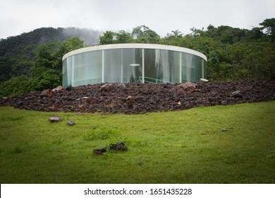 Brumadinho-Minas Gerais_Brasil 11/08/2018 Inhotim Institute Of Contemporary Art And Botanical Garden - Sonic Pavilion - Doug Aitken