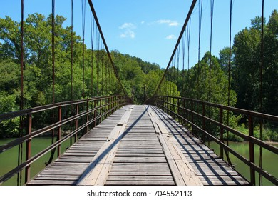 Brumley Swinging Bridge