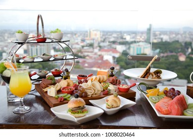 Brunch Promotion food at restaurant