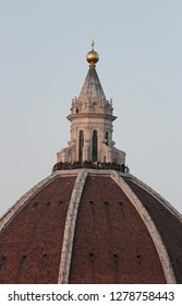 The Brunelleschi's dome a masterpiece by Filippo Brunellesch, covers the church of Santa Maria del Fiore, Florence, Italy