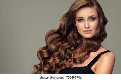 Wavy Hair Images Stock Photos Vectors Shutterstock