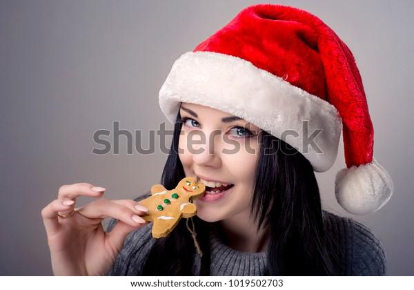 brunette Gingerbread Cutie