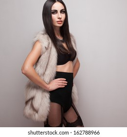 Something is. Amateur brunette lingerie