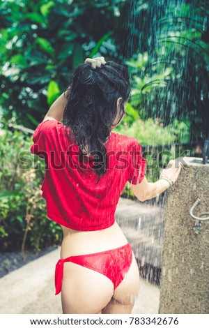 Wet tight teen pussy