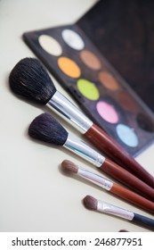 Brush collection for Make Up artist