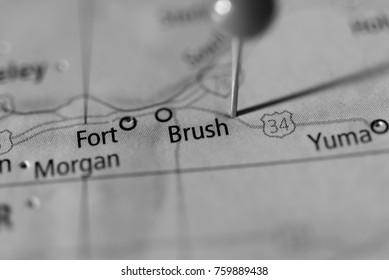 Brush, Colorado, USA.
