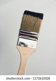 Brush pędzel farba czarna - Shutterstock ID 1172610328