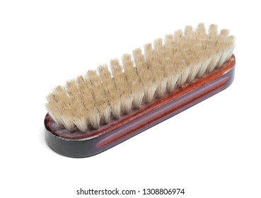 Brush for footwear isolated on white background