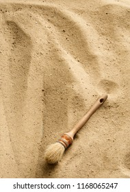 Brush on Sand