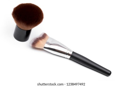 brush on the white background