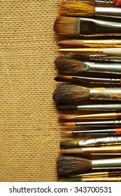Brush, paint, artistic.