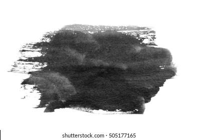 Brush stroke isolated on background