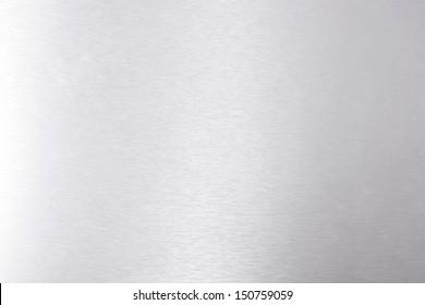 Brushed aluminum background, texture