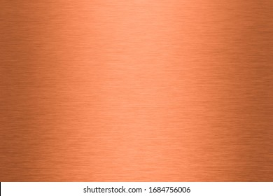 A brushed copper plate as a background