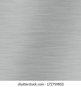 Brushed frame of metal surface, aluminium texture